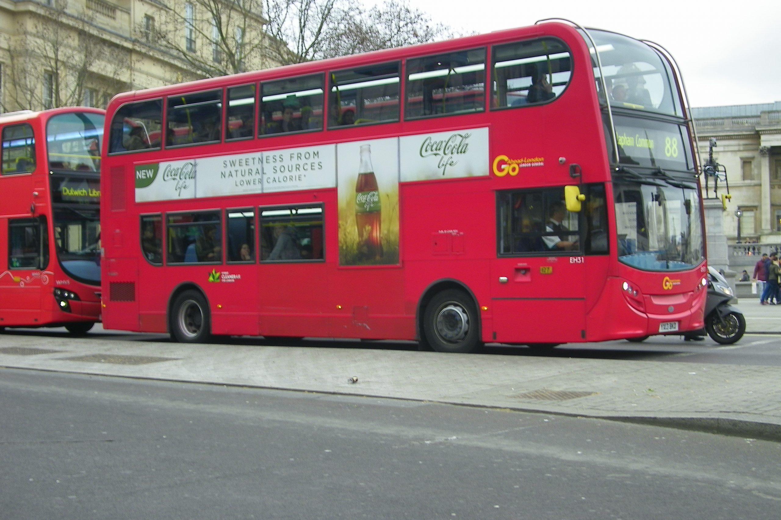 Bus rosso a Londra